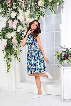 Летнее платье с цветами Angela Ricci